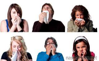 Как остановить течь из носа при простуде народные средства