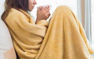 Задержка месячных из за простуды