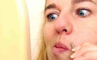 Как избавиться от усиков над верхней губой