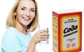 Полоскания содой при стоматите