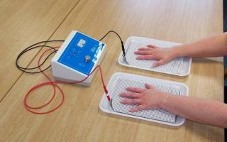 Электрофорез при гипергидрозе даже в домашних условиях