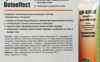 Применение крема ци-клим против морщин