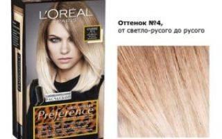 Краска для волос l'oreal: стойкость и интенсивность цвета