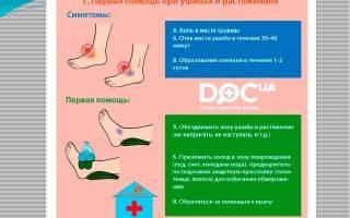 Как лечить синяки