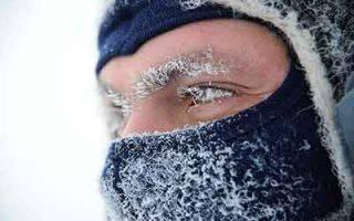 Переохлаждение и обморожение легких