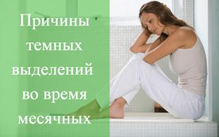 Основные причины появления месячных со сгустками и слизью