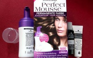 Schwarzkopf Perfect mousse 500 Medium Brown