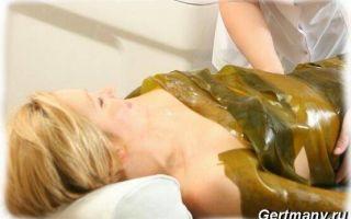 Обертывание водорослями в домашних условиях
