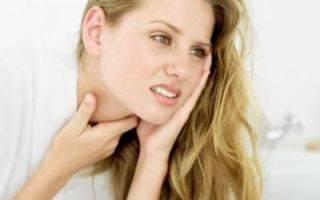 Щекочет в горле и кашель