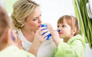 Как промыть нос физраствором ребенку в возрасте от 1 до 4 лет