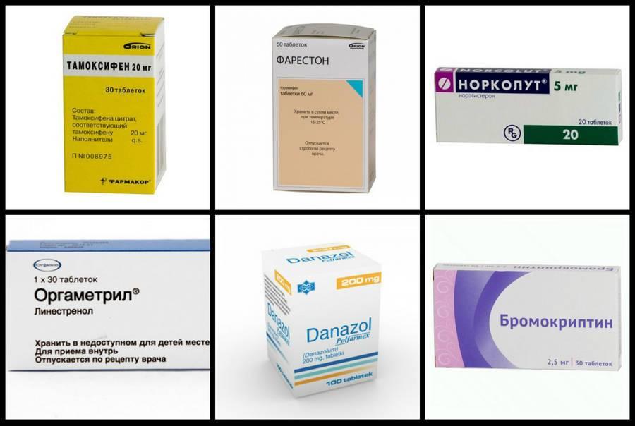 Женские половые гормоны в таблетках — эффективные и популярные лекарства