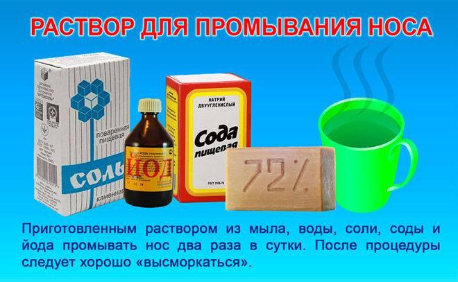 Полоскание горла содой солью и йодом пропорции раствора
