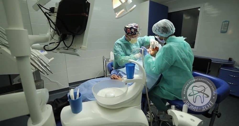 Имплантация под наркозом