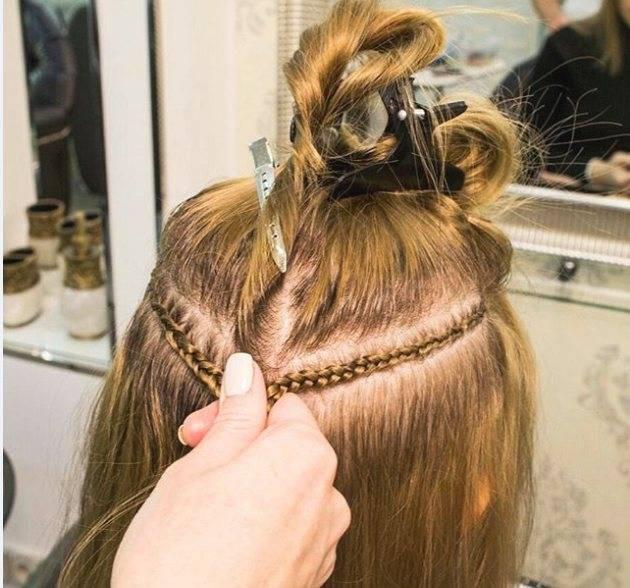 Всё о капсульном наращивании волос