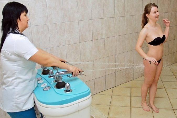 Что лучше и эффективнее душ шарко или подводный массаж