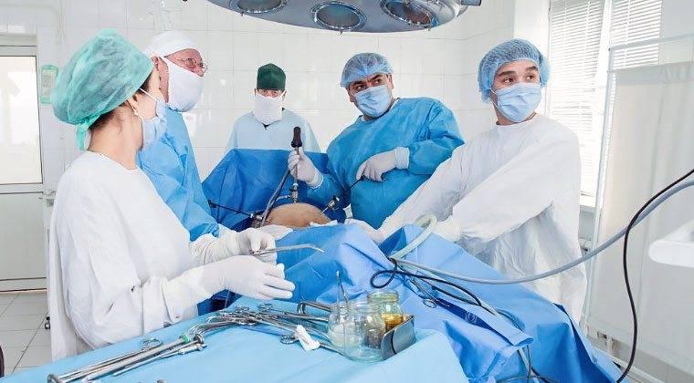 Лечение миомы матки больших размеров без операции