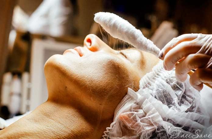 Жидкий азот в криотерапии для лица