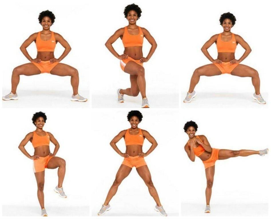 Эффективные упражнения от ушек на бедрах — топ 5 движений для галифе