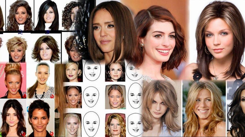 Как по форме лица подобрать причёску для женщин