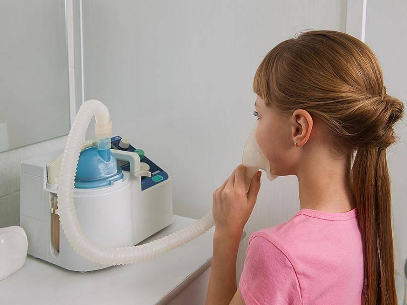 Ингаляции с хлорофиллиптом в небулайзере детям