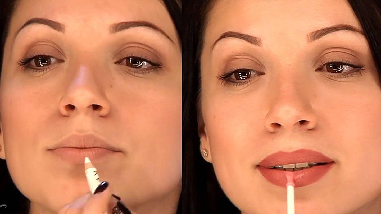 Как визуально увеличить губы с помощью макияжа: эффективная техника и маленькие хитрости