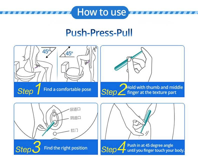 Как ходить в туалет с тампоном