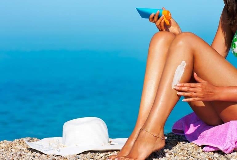 Как быстро снять обгоревшую кожу от загара в домашних условиях