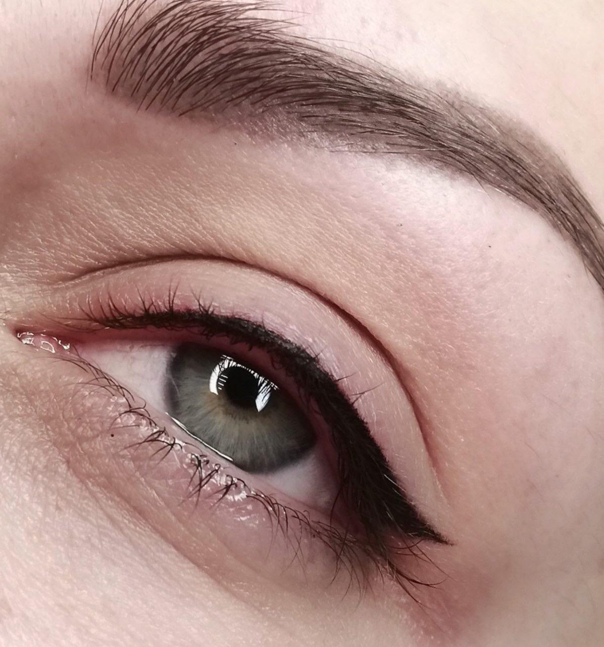 это виды татуажа глаз фото небольшом дворе можно