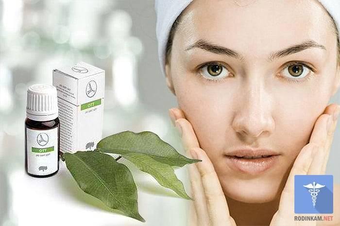 Применение масла чайного дерева в косметологии и медицине