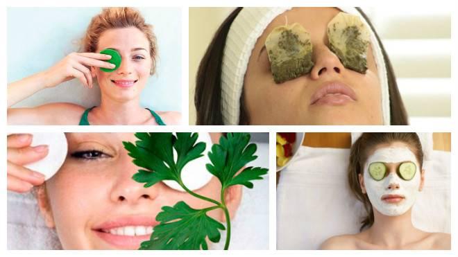 Маска из петрушки для глаз. польза и вред петрушки для кожи вокруг глаз. народные рецепты масок и компрессов