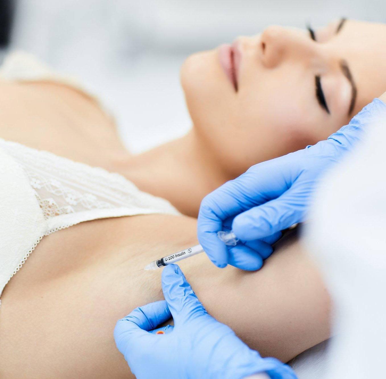 Лечение гипергидроза с помощью ионофореза