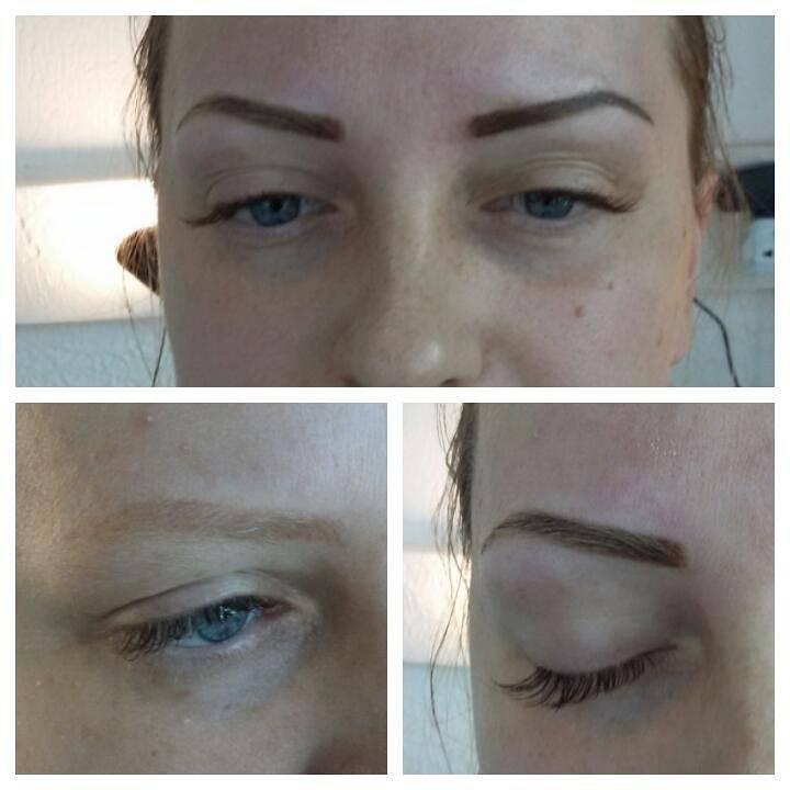 Перманентный макияж бровей. уход после процедуры татуажа. заживляющие кремы