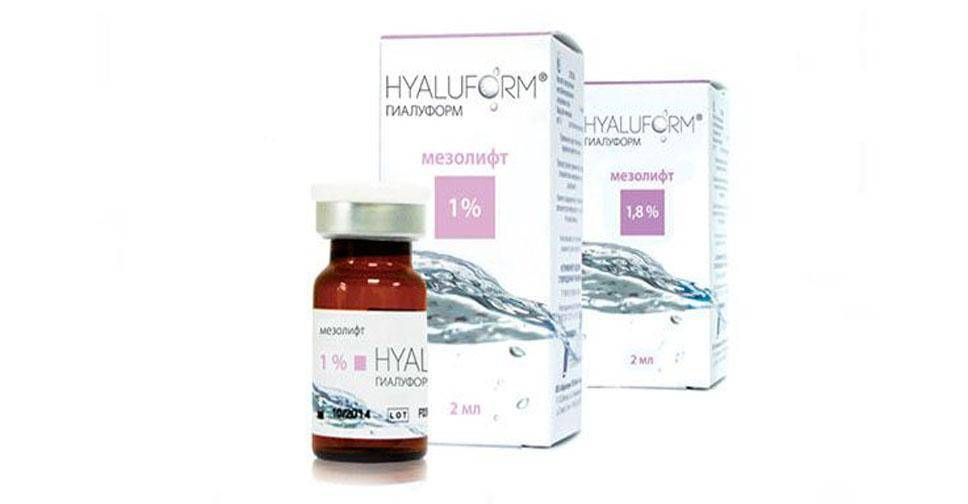 Препарат гиалуформ (hyaluform)