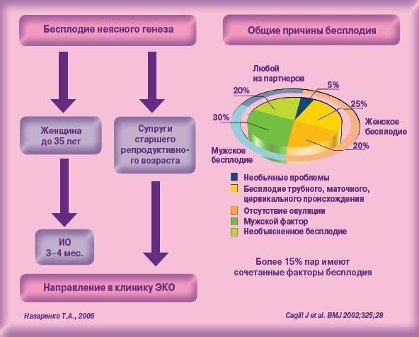 Бесплодие у женщин: причины, диагностика и лечение