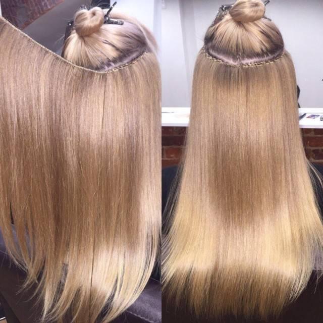 Методики наращивания волос