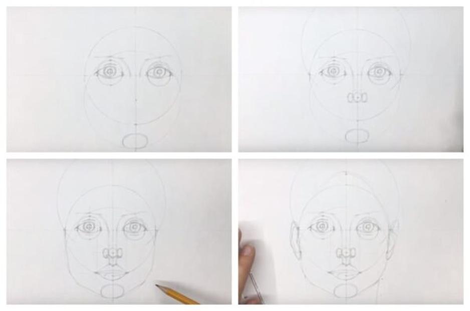Как добиться сходства при рисовании лица