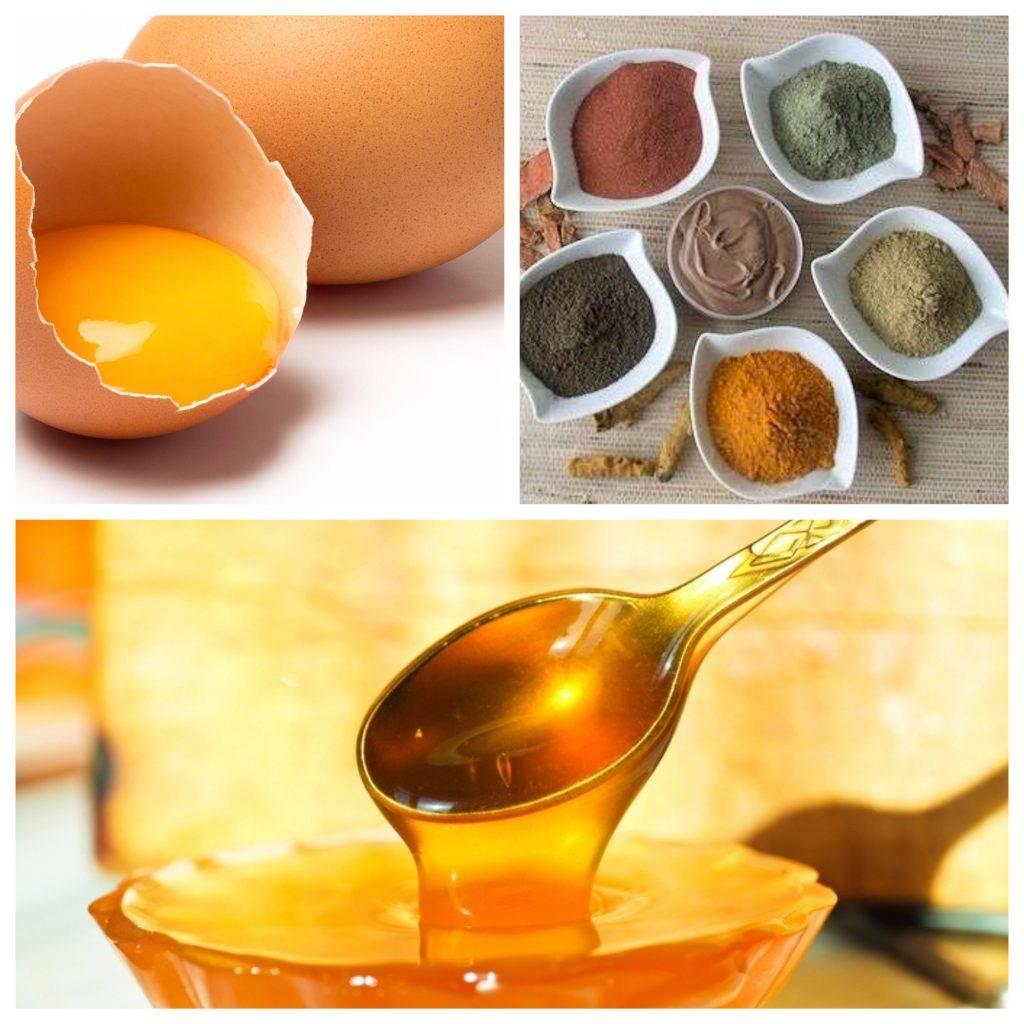 Маска для волос с оливковым маслом, яйцом и медом