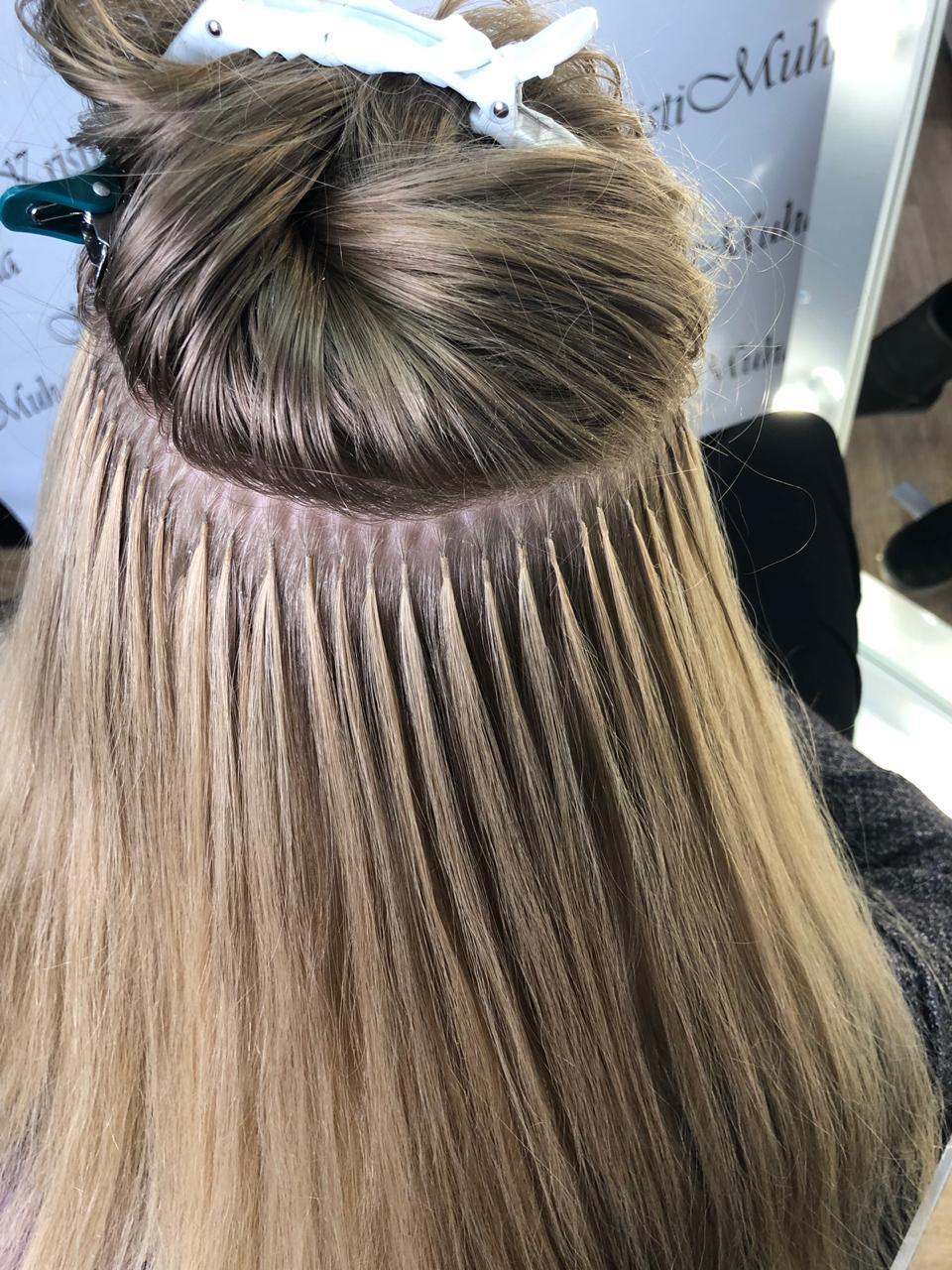 Наращивание волос: виды и технологии