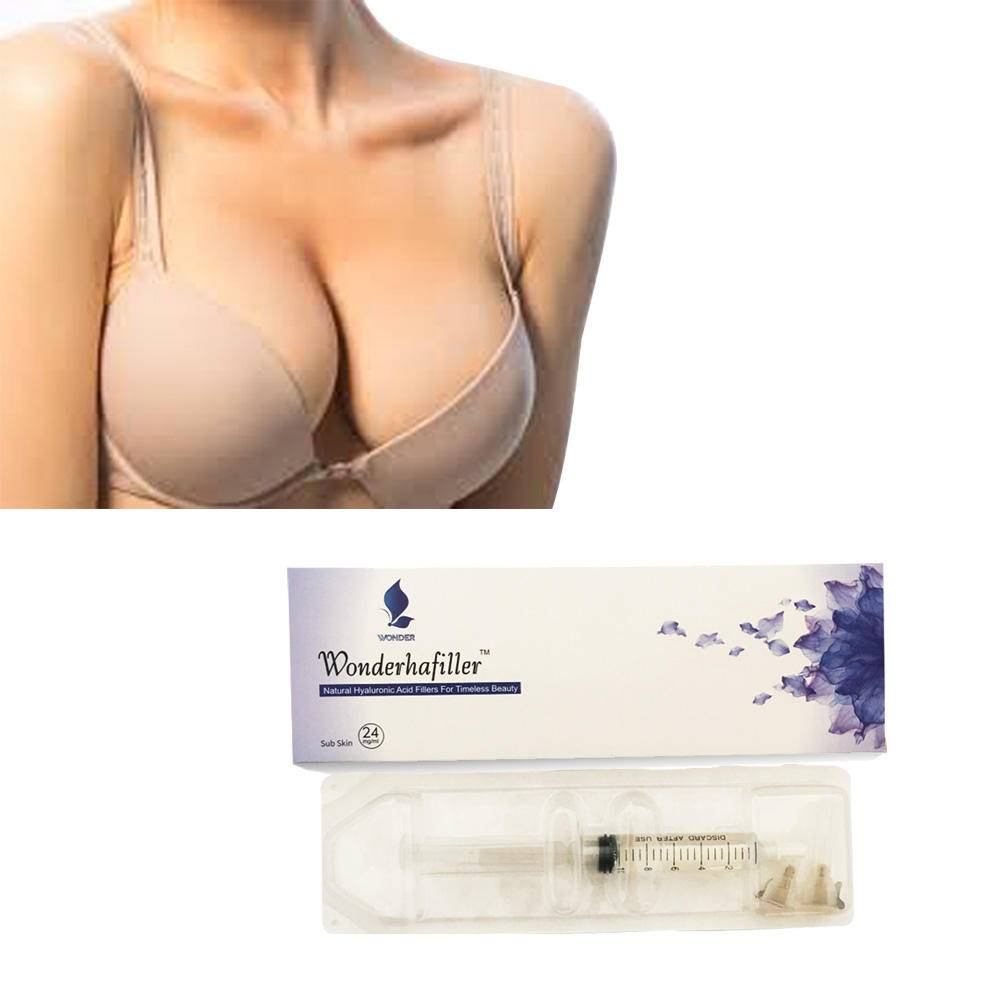 Достоинства и недостатки увеличения груди гиалуроновой кислотой
