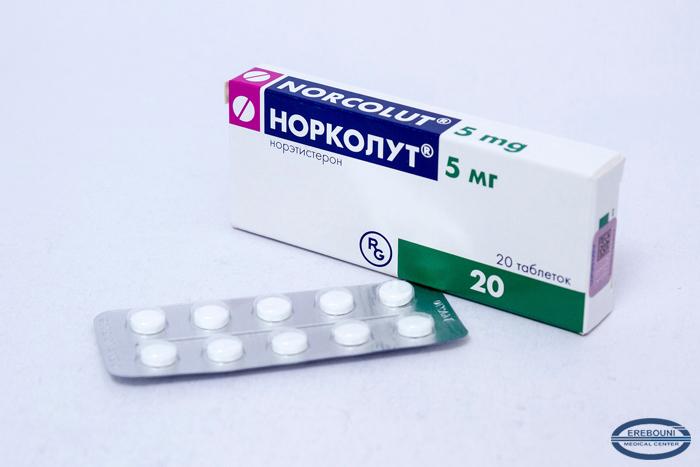 Особенности применения норколута для нормализации месячных