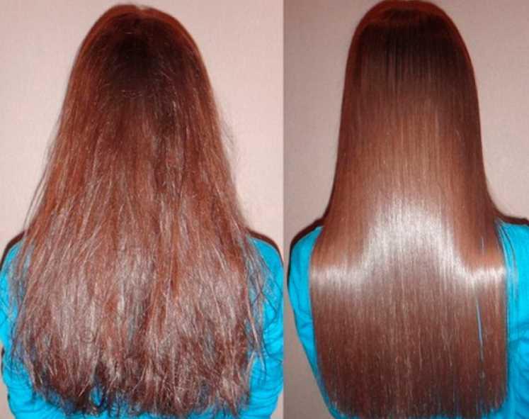 Топ-8 средств для выпрямления волос в домашних условиях