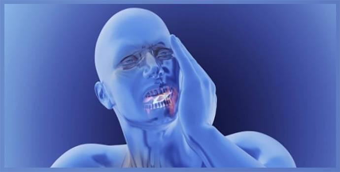 Отекла нижняя челюсть лечение