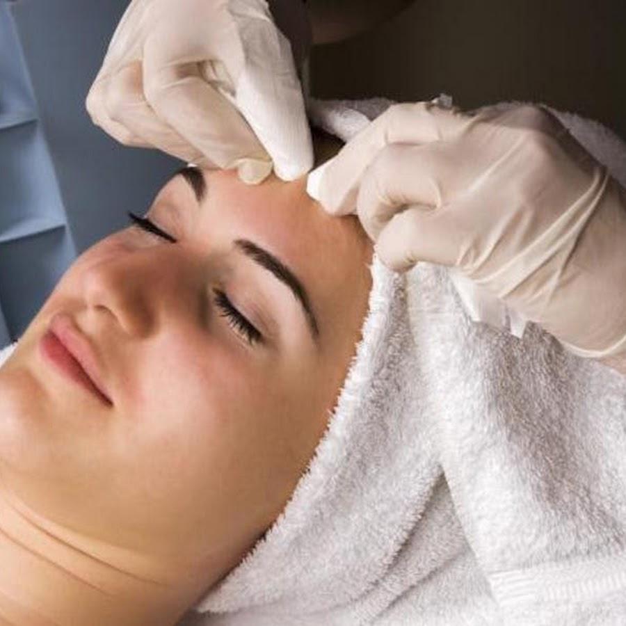 Фото чистки лица у косметолога