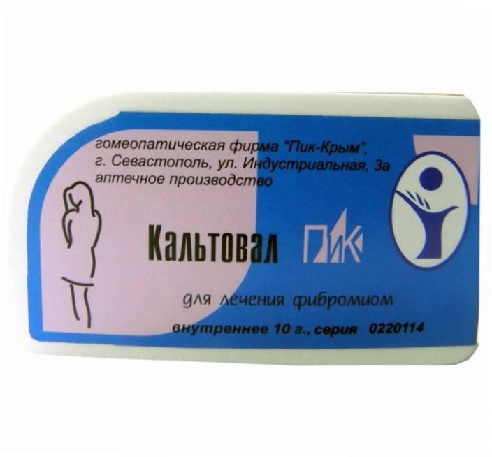 Применение гомеопатических препаратов при миоме матки