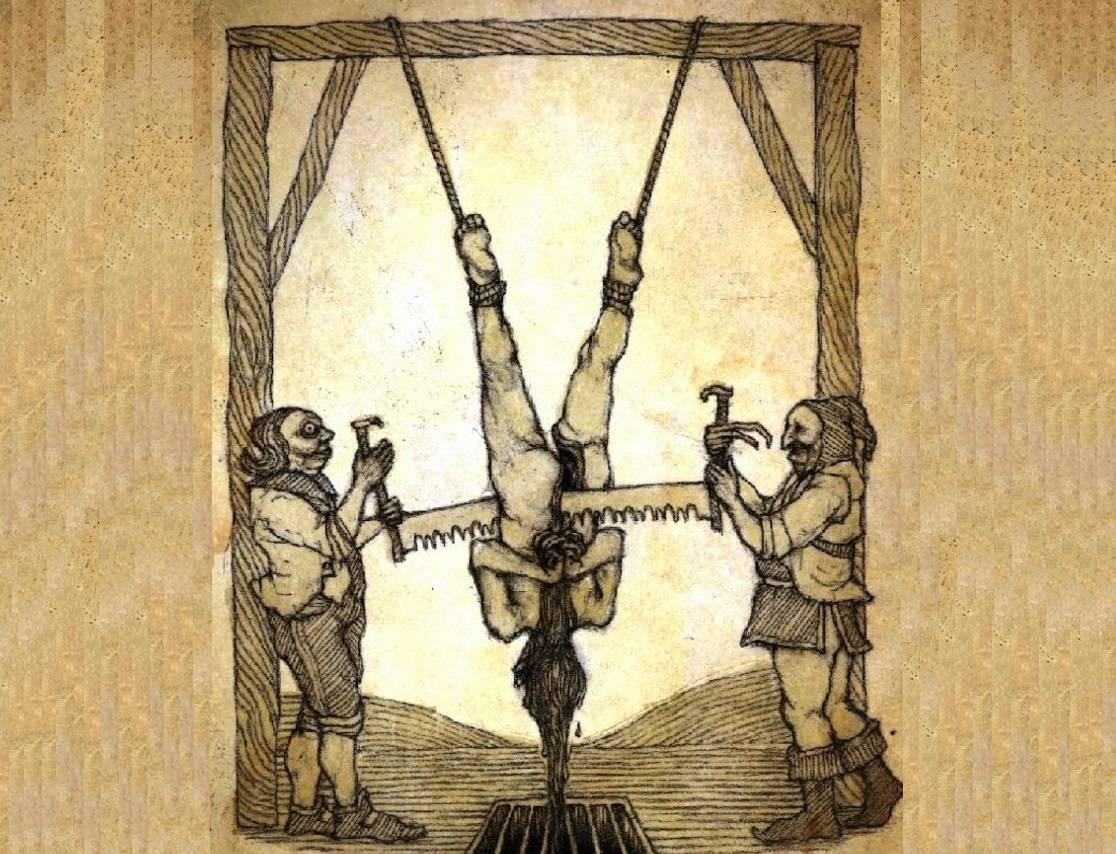 20 самых страшных пыток европы (+14 )