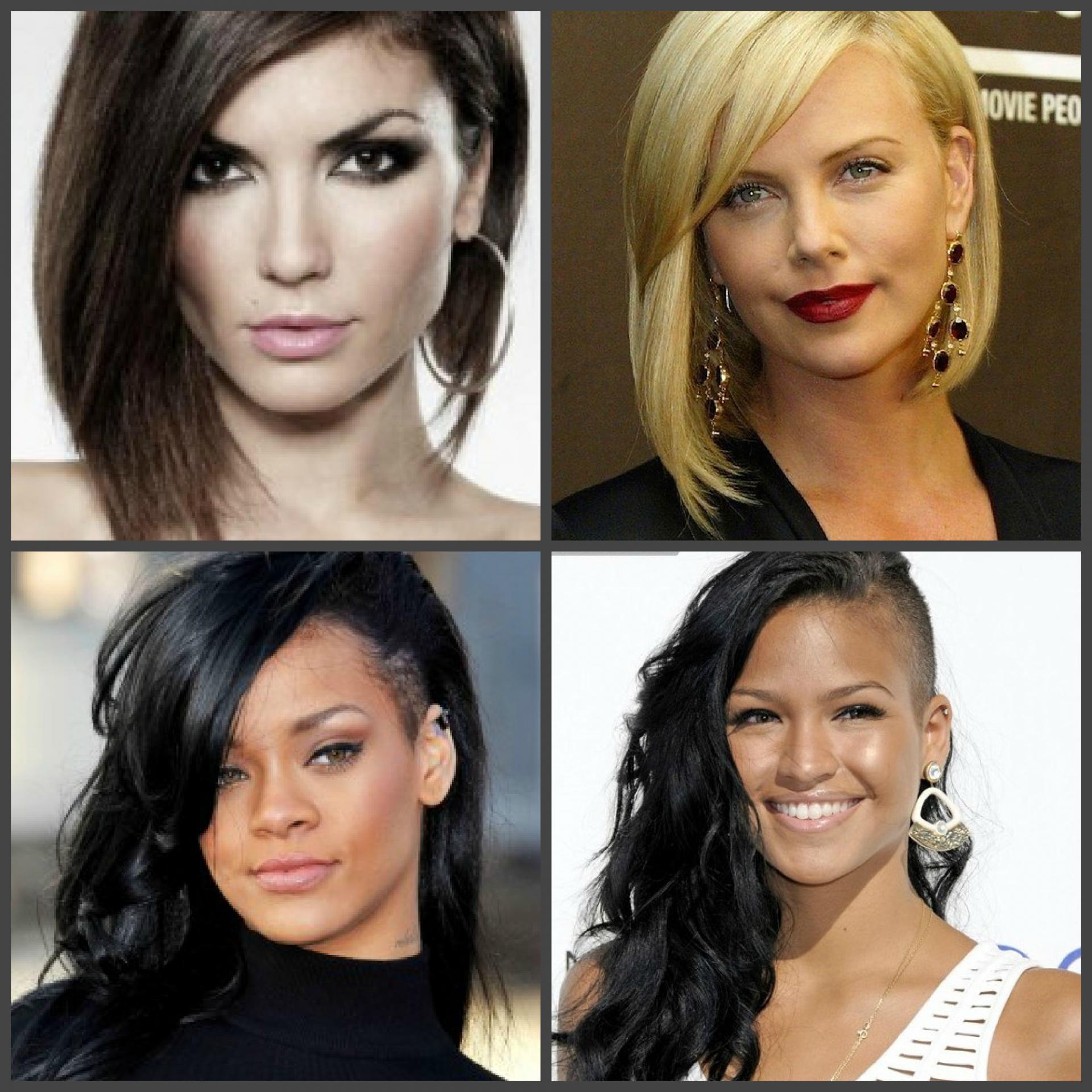 Прически для длинного носа: стрижки девушек и женщин