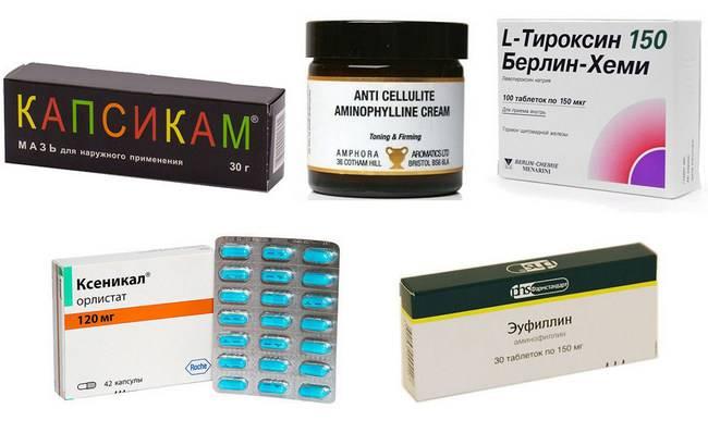 Самые популярные и эффективные таблетки от целлюлита