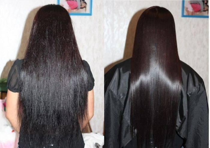 Как делается кератиновое выпрямление волос?