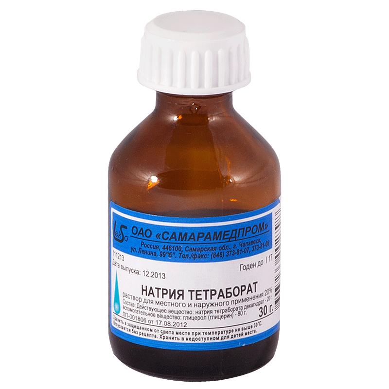 Бура с глицерином: руководство по использованию