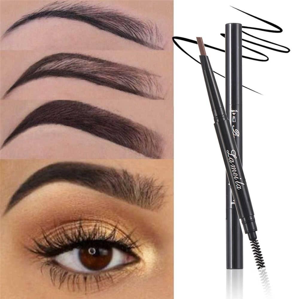 Чем лучше красить брови — тенями или карандашом?